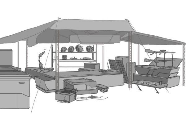 Market Square tent
